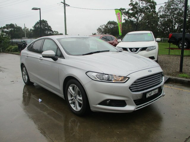 Used Ford Mondeo MD 2018.25MY Ambiente Glendale, 2018 Ford Mondeo MD 2018.25MY Ambiente Silver 6 Speed Sports Automatic Dual Clutch Hatchback