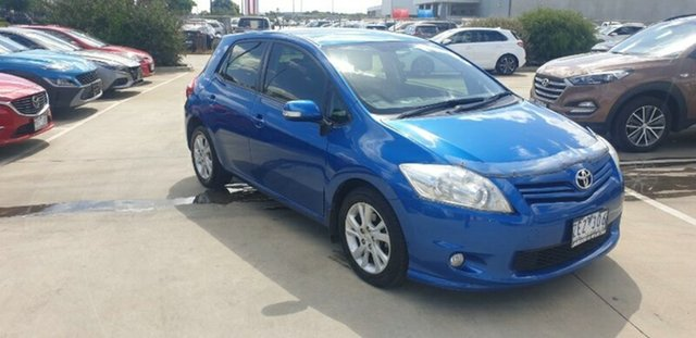 Used Toyota Corolla ZRE152R MY11 Ascent Sport Ravenhall, 2012 Toyota Corolla ZRE152R MY11 Ascent Sport Blue 4 Speed Automatic Hatchback