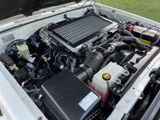 2008 Toyota Landcruiser VDJ79R Workmate White 5 Speed Manual Utility