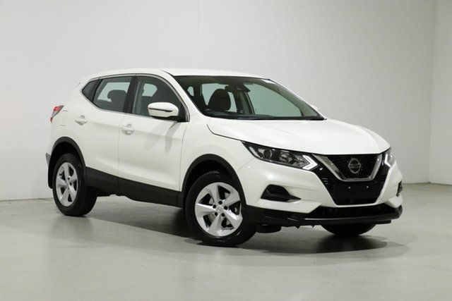 Used Nissan Qashqai MY20 ST Bentley, 2019 Nissan Qashqai MY20 ST White Continuous Variable Wagon