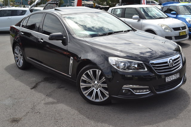 Used Holden Calais VF MY14 V Maitland, 2013 Holden Calais VF MY14 V Black 6 Speed Sports Automatic Sedan