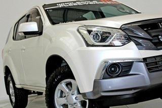 2017 Isuzu MU-X UC MY17 LS-M (4x2) White 6 Speed Auto Sequential Wagon.