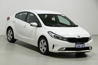 2018 Kia Cerato YD MY18 SI White 6 Speed Auto Seq Sportshift Sedan