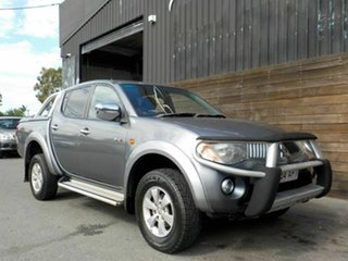 2007 Mitsubishi Triton ML MY07 GLX-R Double Cab Grey 5 Speed Manual Utility.