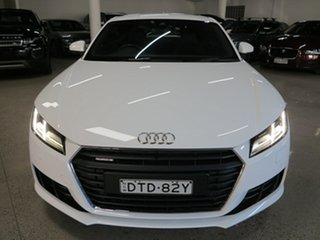 2016 Audi TT FV MY16 S Line S Tronic Quattro White 6 Speed Sports Automatic Dual Clutch Coupe