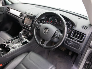 2014 Volkswagen Touareg 7P MY14 150 TDI Grey 8 Speed Automatic Wagon