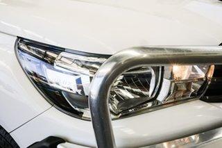 2016 Toyota Hilux GUN126R SR (4x4) Glacier White 6 Speed Automatic Dual Cab Utility