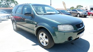 2006 Ford Territory SY TX Green 4 Speed Sports Automatic Wagon.