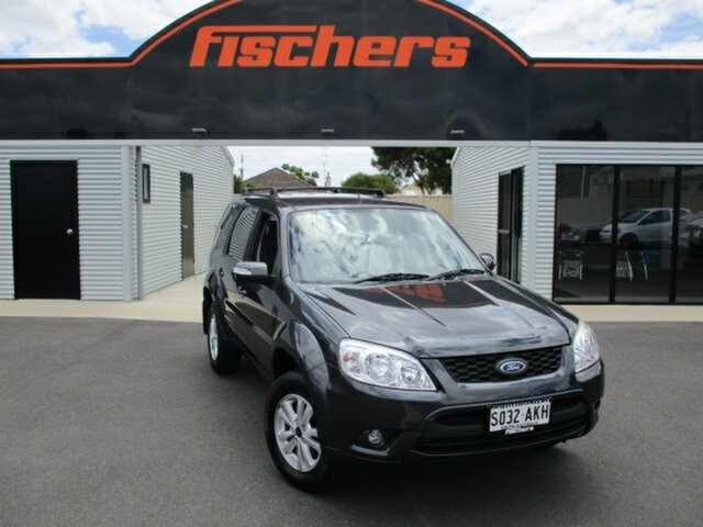 Used Ford Escape ZD MY10 Murray Bridge, 2010 Ford Escape ZD MY10 Charcoal 4 Speed Automatic SUV