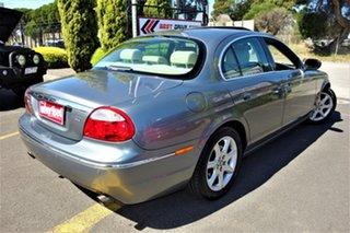 2004 Jaguar S-Type X204 Luxury Silver 6 Speed Automatic Sedan.