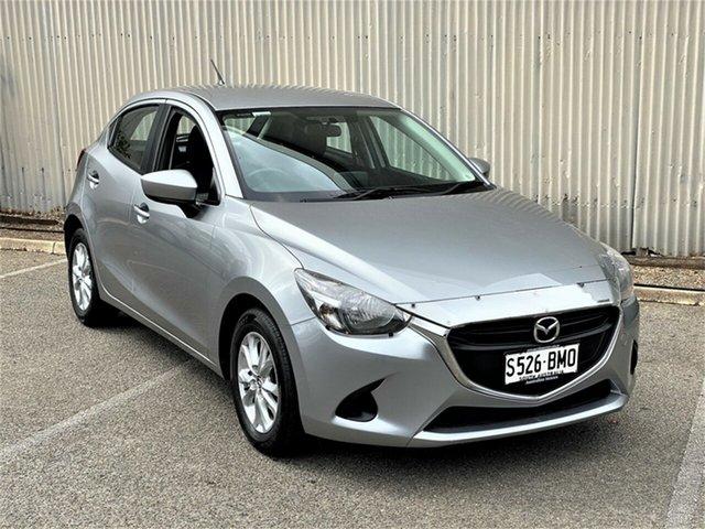 Used Mazda 2 DJ2HAA Maxx SKYACTIV-Drive Morphett Vale, 2016 Mazda 2 DJ2HAA Maxx SKYACTIV-Drive Silver 6 Speed Sports Automatic Hatchback