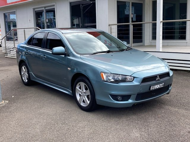 Used Mitsubishi Lancer CJ MY08 VR North Gosford, 2008 Mitsubishi Lancer CJ MY08 VR Blue 6 Speed Constant Variable Sedan