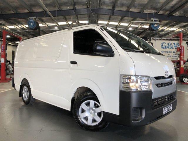 Pre-Owned Toyota HiAce TRH201R LWB Oakleigh, 2018 Toyota HiAce TRH201R LWB White 6 Speed Automatic Van