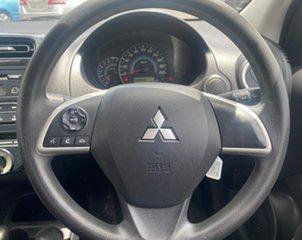 2014 Mitsubishi Mirage LA MY15 ES Red 1 Speed Constant Variable Sedan