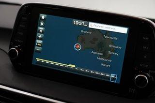 2020 Hyundai Tucson TL3 MY21 Highlander AWD Aqua Blue 8 Speed Sports Automatic Wagon