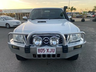 2008 Nissan Patrol GU 6 MY08 ST White 5 Speed Manual Wagon