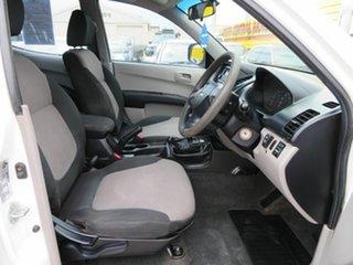 2009 Mitsubishi Triton MN MY10 GLX (4x4) White 4 Speed Automatic 4x4 Cab Chassis