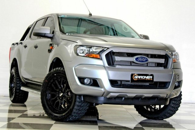Used Ford Ranger PX MkII MY17 XLS 3.2 (4x4) Burleigh Heads, 2016 Ford Ranger PX MkII MY17 XLS 3.2 (4x4) Grey 6 Speed Automatic Double Cab Pick Up