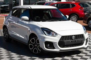 2020 Suzuki Swift AZ Series II Sport Pure White 6 Speed Sports Automatic Hatchback.