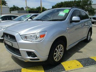 2011 Mitsubishi ASX XA MY11 2WD Silver 5 Speed Manual Wagon