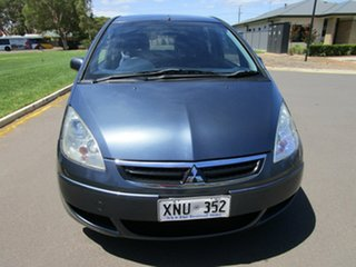 2007 Mitsubishi Colt RG MY06 Upgrade LS Grey Continuous Variable Hatchback.