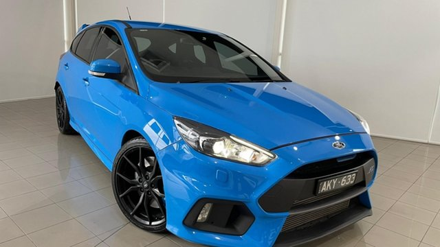 Used Ford Focus LZ RS AWD Deer Park, 2016 Ford Focus LZ RS AWD Blue 6 Speed Manual Hatchback