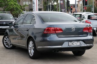 2013 Volkswagen Passat 3C MY13.5 130 TDI Highline Grey 6 Speed Direct Shift Sedan.