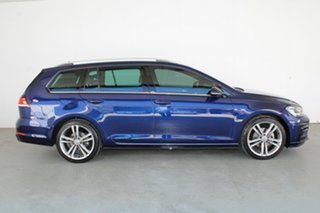 2017 Volkswagen Golf 7.5 MY18 110TSI DSG Highline Blue 7 Speed Sports Automatic Dual Clutch Wagon