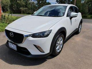 2016 Mazda CX-3 DK Maxx White Manual Wagon.