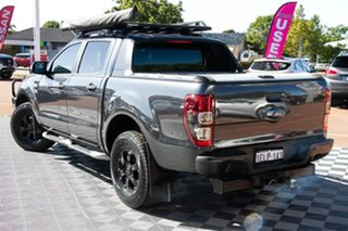 2014 Ford Ranger PX Wildtrak Double Cab Grey 6 Speed Manual Utility.