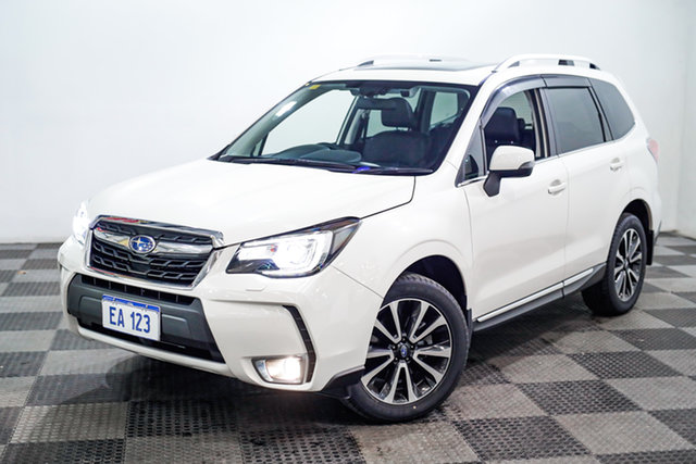 Used Subaru Forester S4 MY16 XT CVT AWD Premium Edgewater, 2016 Subaru Forester S4 MY16 XT CVT AWD Premium White 8 Speed Constant Variable Wagon