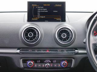 2016 Audi A3 8V MY17 1.6 TDI Sportback Silver 7 Speed Auto S-Tronic Hatchback