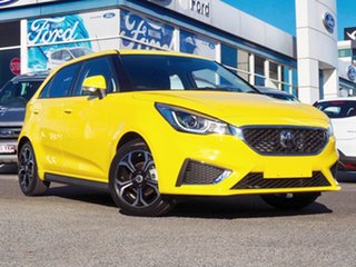 2020 MG MG3 SZP1 MY21 Excite Yellow 4 Speed Automatic Hatchback.
