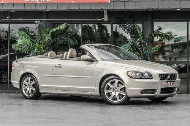 Used Volvo C70 M Series MY07 LE Bowen Hills, 2007 Volvo C70 M Series MY07 LE Beige 5 Speed Sports Automatic Convertible