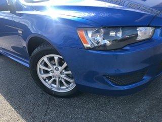 2010 Mitsubishi Lancer CJ MY11 ES Sportback Blue 6 Speed Constant Variable Hatchback.