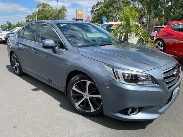 Used Subaru Liberty B6 MY16 2.5i CVT AWD Premium Bunbury, 2016 Subaru Liberty B6 MY16 2.5i CVT AWD Premium Grey 6 Speed Constant Variable Sedan