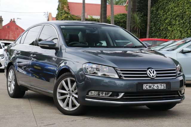 Pre-Owned Volkswagen Passat 3C MY13.5 130 TDI Highline Mosman, 2013 Volkswagen Passat 3C MY13.5 130 TDI Highline Grey 6 Speed Direct Shift Sedan