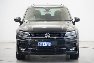 2017 Volkswagen Tiguan 5N MY18 162TSI DSG 4MOTION Highline Black 7 Speed.