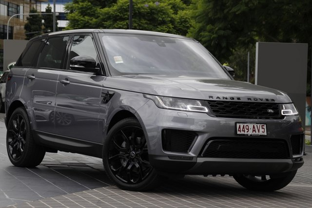 Demo Land Rover Range Rover Sport L494 20.5MY SE Newstead, 2020 Land Rover Range Rover Sport L494 20.5MY SE Eiger Grey 8 Speed Sports Automatic Wagon