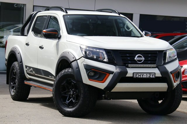 Used Nissan Navara D23 S4 MY20 N-TREK Warrior Homebush, 2019 Nissan Navara D23 S4 MY20 N-TREK Warrior White 7 Speed Sports Automatic Utility