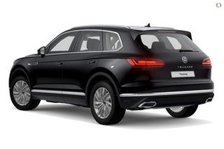 2020 Volkswagen Touareg CR MY21 170TDI Tiptronic 4MOTION Black 8 Speed Sports Automatic Wagon