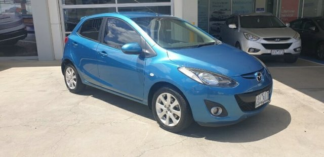 Used Mazda 2 DE10Y2 MY13 Maxx Ravenhall, 2013 Mazda 2 DE10Y2 MY13 Maxx Blue 4 Speed Automatic Hatchback