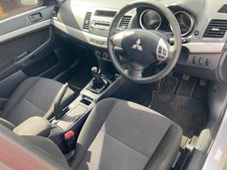 2009 Mitsubishi Lancer CJ MY10 ES 5 Speed Manual Sedan