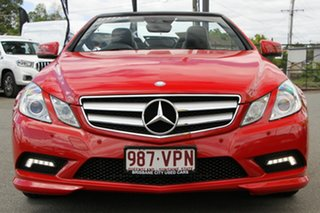 2010 Mercedes-Benz E-Class A207 E350 7G-Tronic Avantgarde Fire Opal 7 Speed Sports Automatic