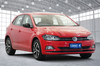 2018 Volkswagen Polo AW MY18 beats DSG Red 7 Speed Sports Automatic Dual Clutch Hatchback.