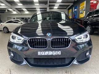 2018 BMW 1 Series F20 LCI-2 125i M Sport Black Sapphire Sports Automatic Hatchback.