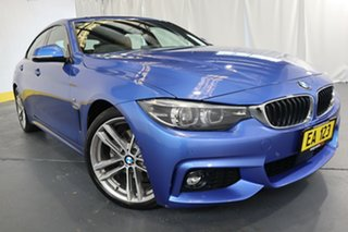 2017 BMW 4 Series F32 430i M Sport Blue 8 Speed Sports Automatic Coupe.