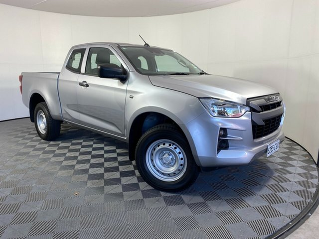 Demo Isuzu D-MAX MY19 SX Space Cab 4x2 High Ride Wayville, 2020 Isuzu D-MAX MY19 SX Space Cab 4x2 High Ride Mercury Silver 6 Speed Sports Automatic Utility