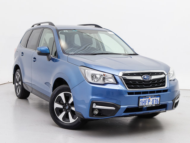 Used Subaru Forester MY16 2.0D-L, 2017 Subaru Forester MY16 2.0D-L Blue Continuous Variable Wagon