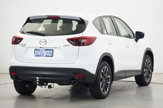 2015 Mazda CX-5 KE1032 Grand Touring SKYACTIV-Drive AWD White 6 Speed Sports Automatic Wagon